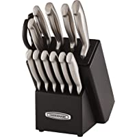 Farberware Self-Sharpening 13-Piece Knife Block Set with EdgeKeeper Technology