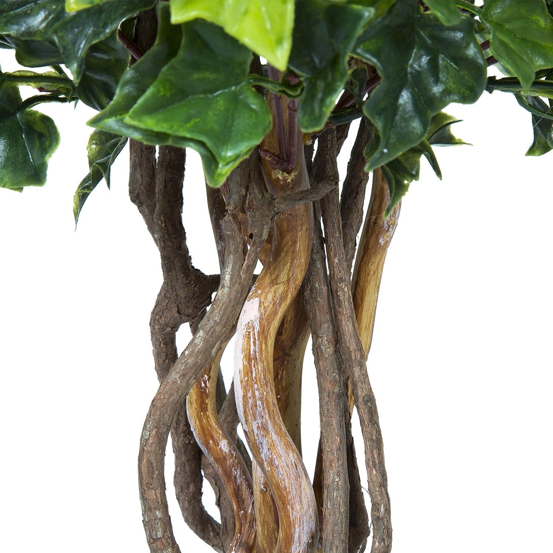 Pure Garden 5 Foot Hedyotis Topiary Artificial Tree