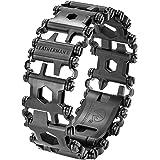 LEATHERMAN, Tread Bracelet, The Original Travel Friendly Wearable Multitool, Built in the USA, Black (FFP)