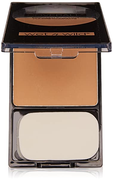 Amazon.com : Wet n Wild CoverAll Pressed Powder Medium/Tan 826B by Wet n Wild : Beauty