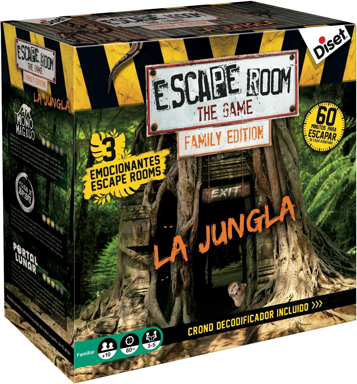 Escape Room the game, La Jungla edición familiar