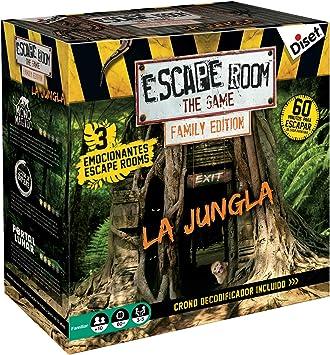 Escape Room The Jungle (versión Familiar): Amazon.es: Juguetes y juegos