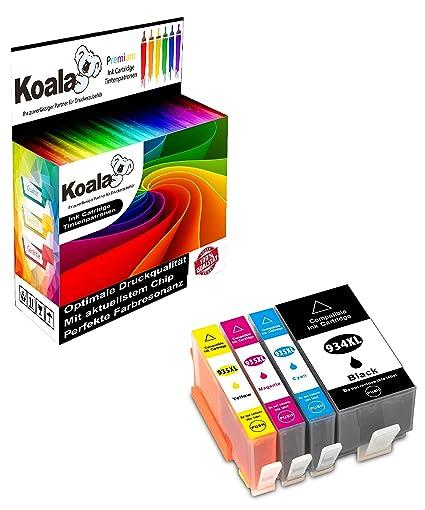 Koala - Cartuchos de Impresora compatibles con HP 934XL ...