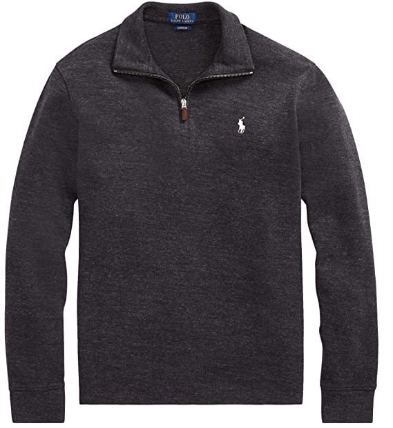 Polo Ralph Lauren Men's Half Zip Pima Cotton Sweater