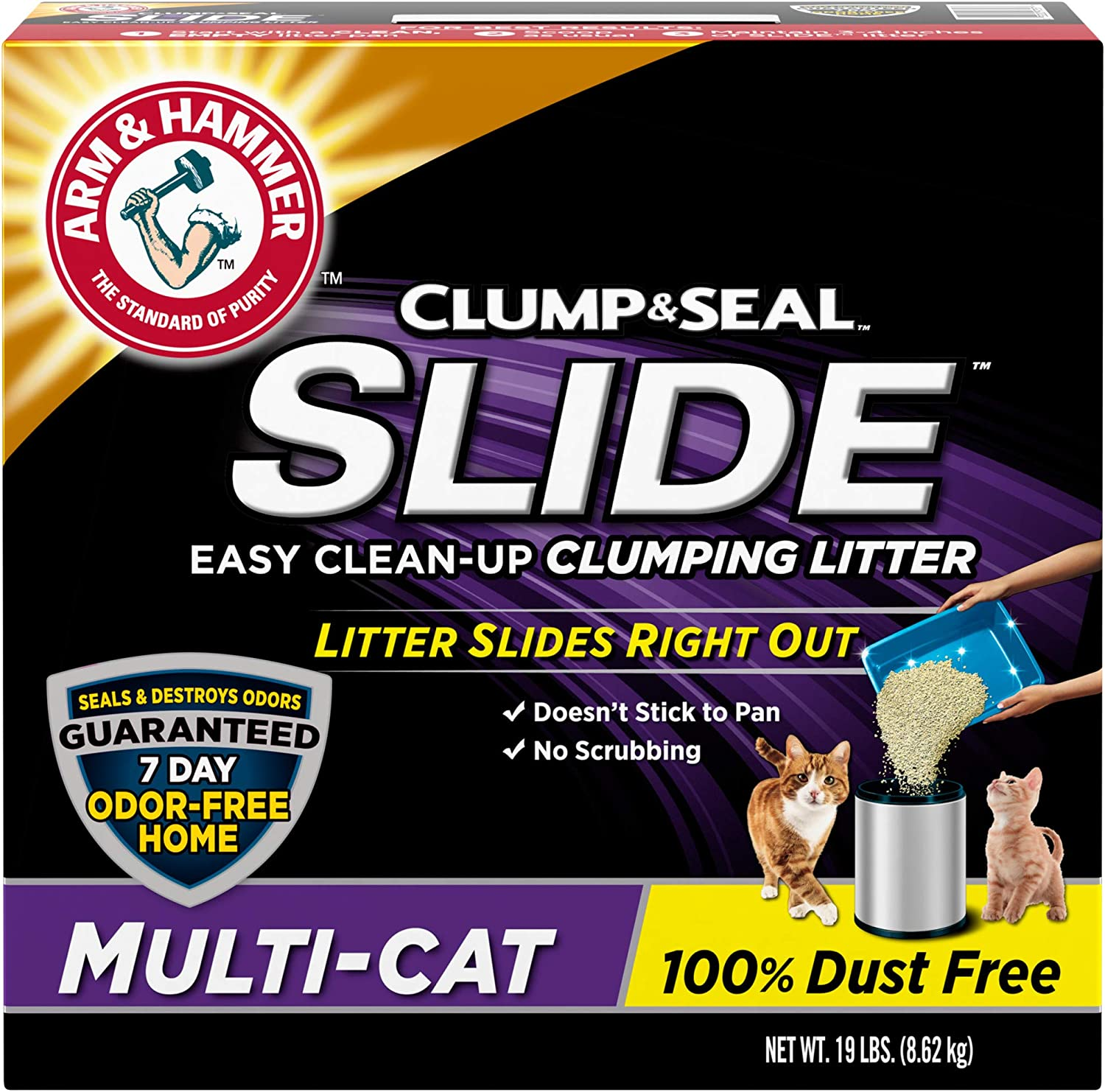 Arm & Hammer Slide Cat Litter - Clumping Multi-Cat