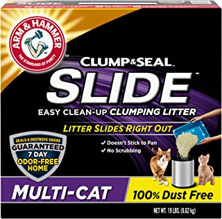 product image for Arm & Hammer Slide Multi-Cat Easy Clean-Up Litter, 19 lb (033200973577)