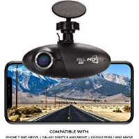 Dash Cam Powered by Nexar, 1080p Full HD, Cloud Storage for Video Clips and 32GB SD Card Included, Small & Discreet 155° Wide Angle Car Camera, G-Sensor and GPS, Loop Recording, Easy to Install