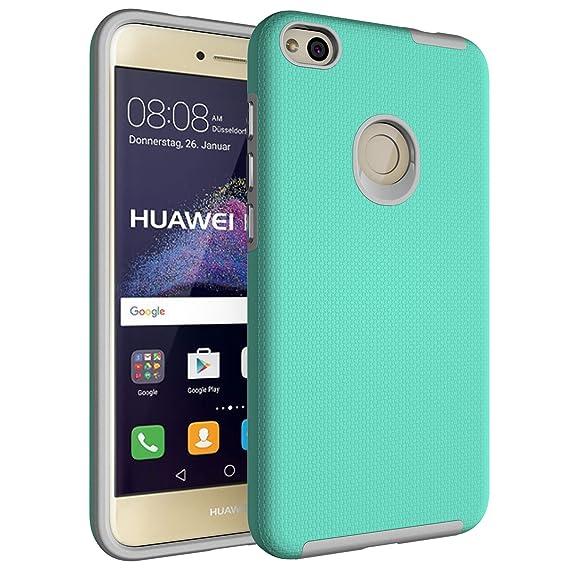 reputable site 14113 e7c61 Amazon.com: Huawei Nova Lite Case, Huawei Nova Lite Hybrid Case ...