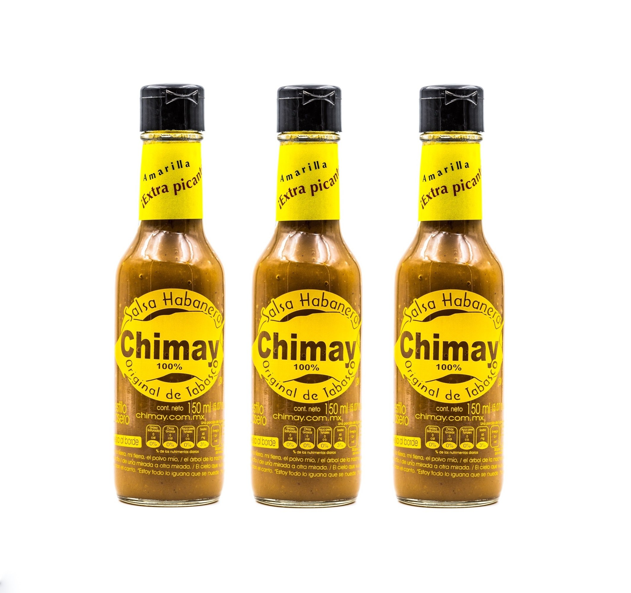 Amazon.com : Chimay Habanero Sauce Extra Hot - 5 Oz (Pack of 3) : Grocery & Gourmet Food