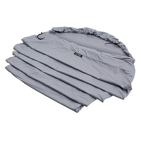 Wilsa Outdoor Tela de Saco de Dormir Momia con Capucha 100% poliéster 230 x 80
