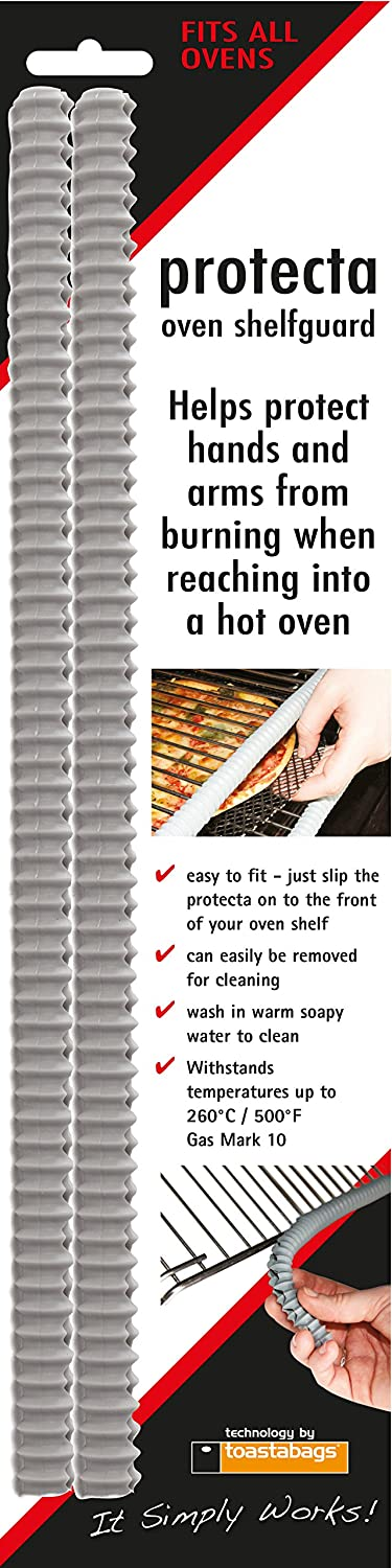 Oven Shelf Guard 14.17 Inch Two Pack Silicon Oven Rack Burn Preventing Front Trim Planit products USA SG-14