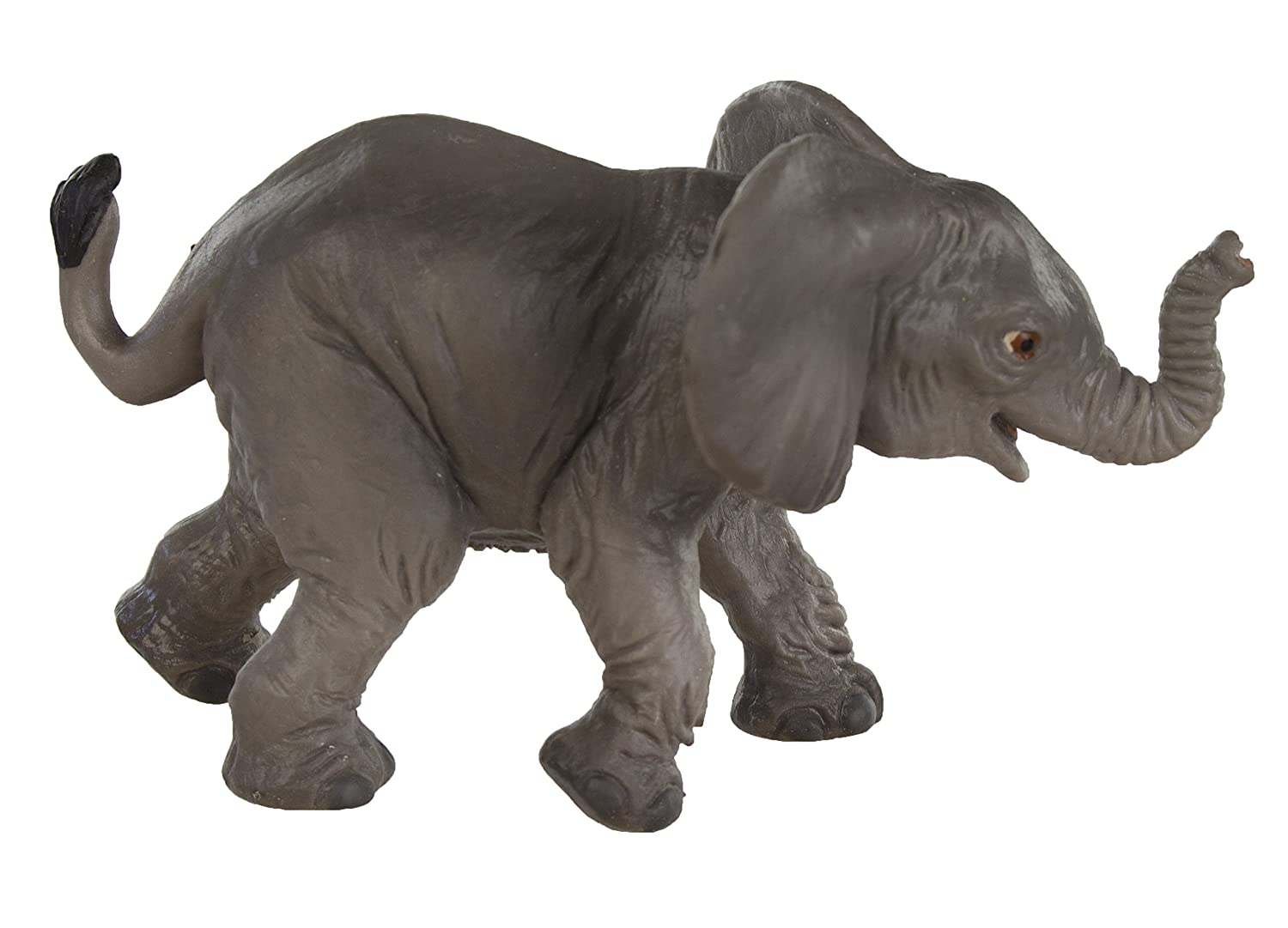 For Ages 3 and Up Quality Construction from Safe and BPA Free Materials Realistic Hand Painted Toy Figurine Model Safari Ltd Wild Safari Wildlife African Elephant Baby