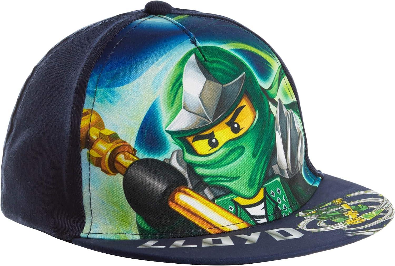 LEGO Ninjago Gorra de béisbol para Chicos Azul marino 54: Amazon ...