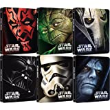 Star Wars Steelbook Blu-ray Set - The Complete Saga I-VI (1+2+3+4+5+6)