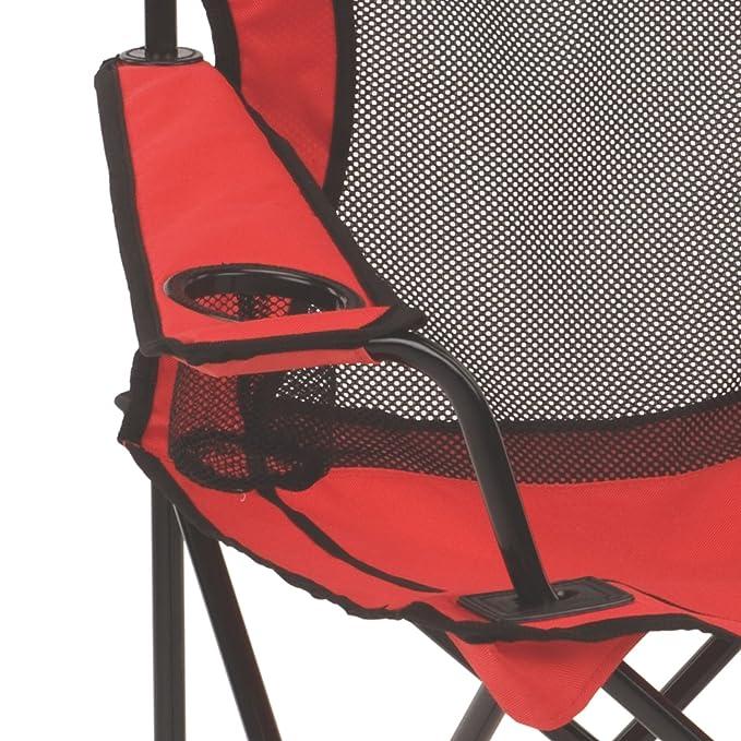 Coleman Quad silla de malla banda ancha: Amazon.es: Deportes y aire libre