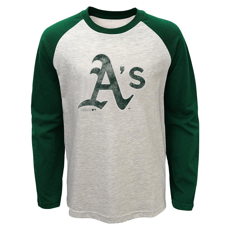 選ぶなら Outerstuff B01734NBTC MLB Oakland AthleticsユースBoys 820長袖ラグランTシャツ, Large (14 Heather ), – 16 ), Oatmeal Heather B01734NBTC, MESSE:6c43adfc --- a0267596.xsph.ru
