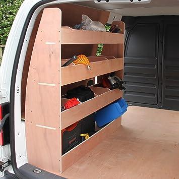 Monster Racking VW Caddy Maxi Van Racking & Shelving Storage Unit, 122 5cm  x 122cm x 30cm, Plywood