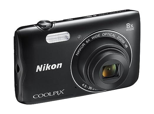 15 opinioni per Nikon Coolpix A300 Fotocamera Digitale Compatta, 20.1 MP, Zoom Wide 8x, VR,