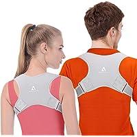 Anoopsyche Corrector de Postura Corrector Espalda Soporte Ajustable para Postura de Espalda Transpirable Corrección…