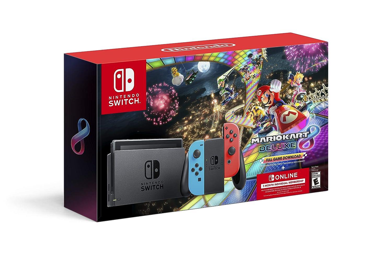 Nintendo Switch and Mario Kart 8 Deluxe Bundle