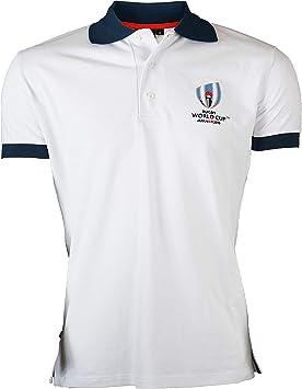 Polo RUGBY World Cup 2019 - Colección oficial de Rugby World Cup – Talla para hombre: Amazon.es: Deportes y aire libre
