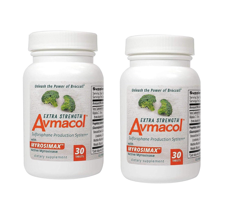 Amazon.com: Tabletas Avmacol extra resistentes, 30: Health ...