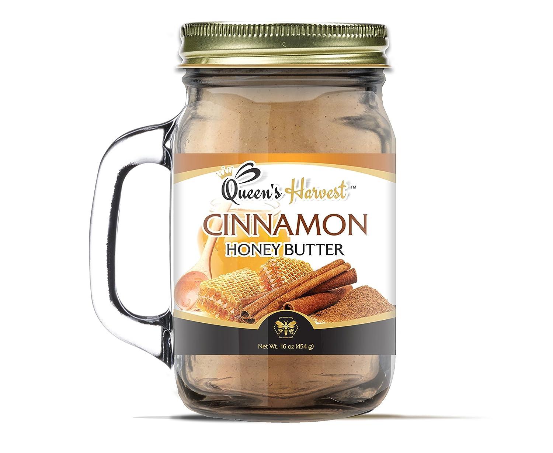 Amazon.com : Queens Harvest Pecan Honey Butter - 16 Ounce : Grocery & Gourmet Food