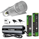 VIVOSUN Hydroponic 600 Watt HPS MH Grow Light Cool Tube Reflector Kit - Easy to set up, High Stability & Compatibility ( Enhanced Version )