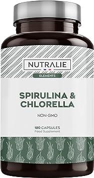 Espirulina & Chlorella 1800mg | Detox, Energía, Fuerza y ...