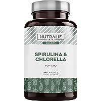 Espirulina & Chlorella 1800mg | Detox, Energía, Fuerza y Efecto Saciante | Superalimento…