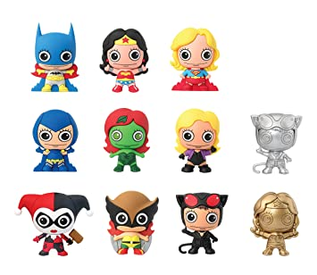 DC Comics Women of DC Universe 3D Foam Llavero Mystery Pack ...