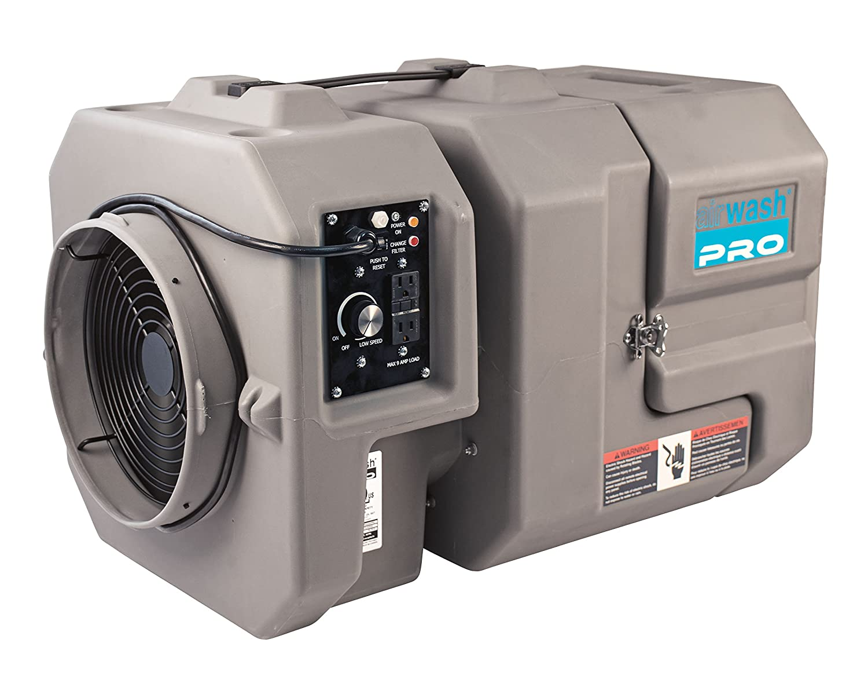 Image of Amaircare 24-A-1KPG-00 Airwash Multi Pro Air Scrubber, 250-800 CFM Ventilation Fans