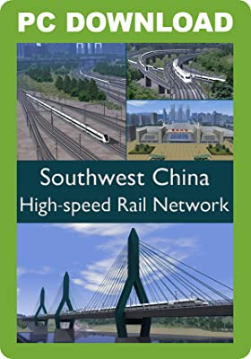 Southwest China High Speed Rail Network [Download]