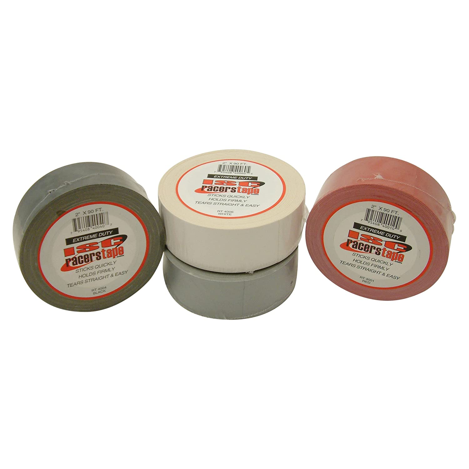 White x 30 yds. ISC Extreme-Duty Racers Tape 2 in