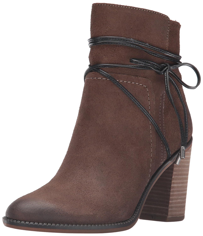 Franco Sarto Women's Edaline Ankle Bootie B01E7XG4T6 5.5 B(M) US|Mushroom