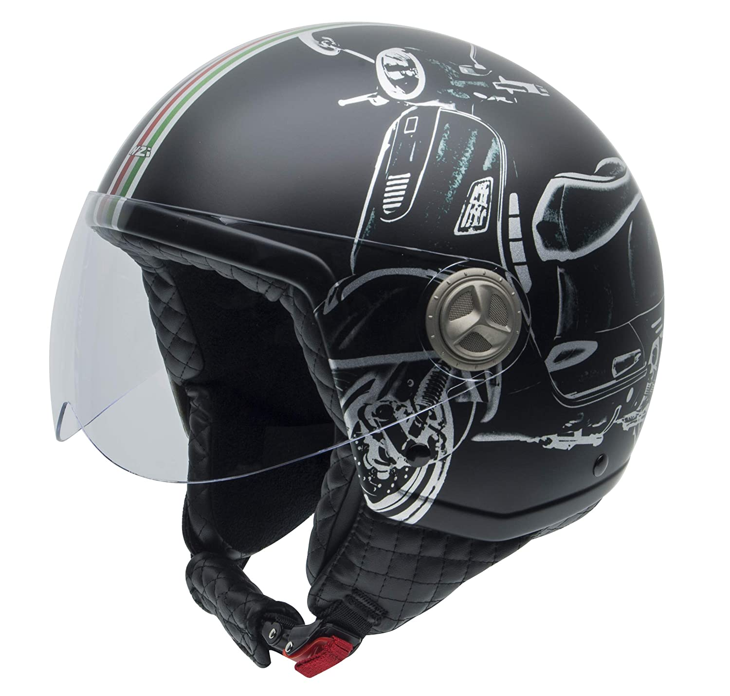 NZI Zeta Casco Graphics B Vespa Turia, B-VESPA TURIA, Talla XL NZI TECHNICAL PROTECTION S.L. 050267A046XL