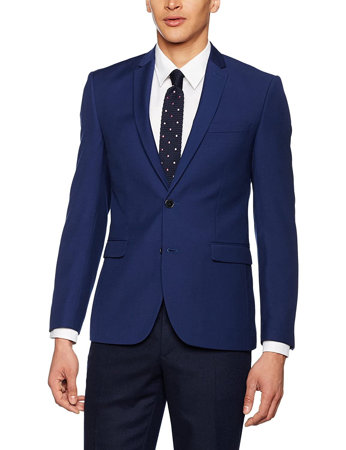 Burton Menswear London Men's Essential Suit Jacket 02S34JBLU