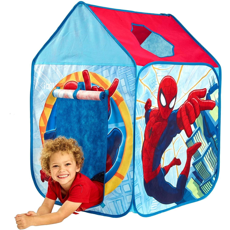 Spiderman - Casita de Tela (Worlds Apart 156SPM01E): Amazon.es: Juguetes y juegos