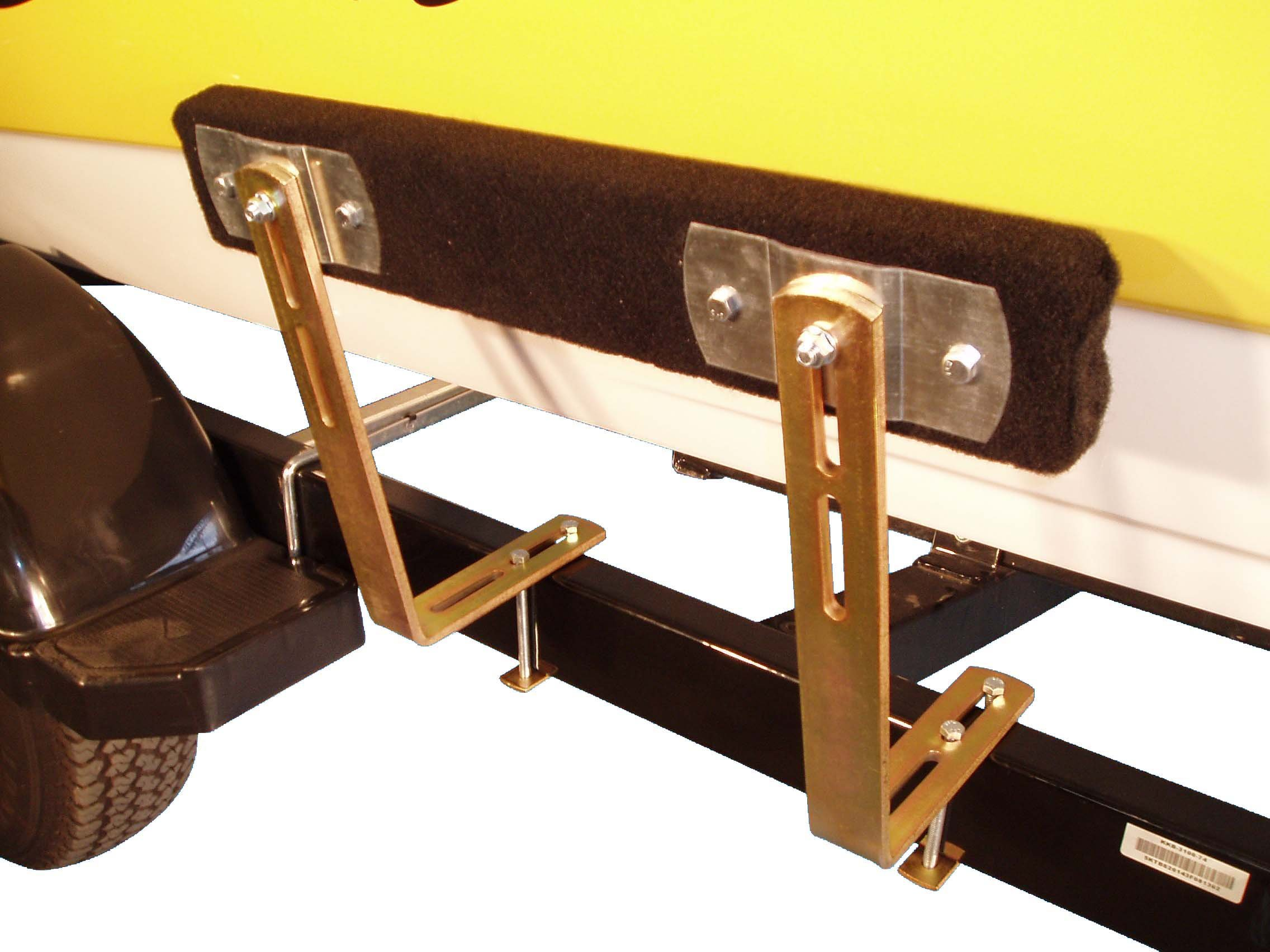 T-924; 2 Ft. Boat Trailer Bunk Guide-On, 1 Pair ( Zinc Plated Finish )