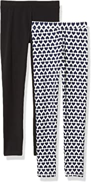 Amazon/ J. Crew Brand- LOOK by crewcuts Girl's 2-Pack Leggings