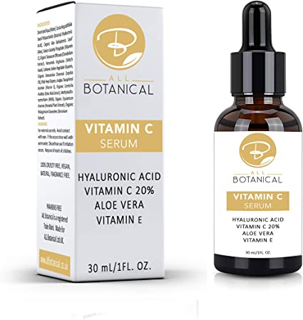 Vitamin C Serum For Face With 20 Vitamin C Hyaluronic Acid