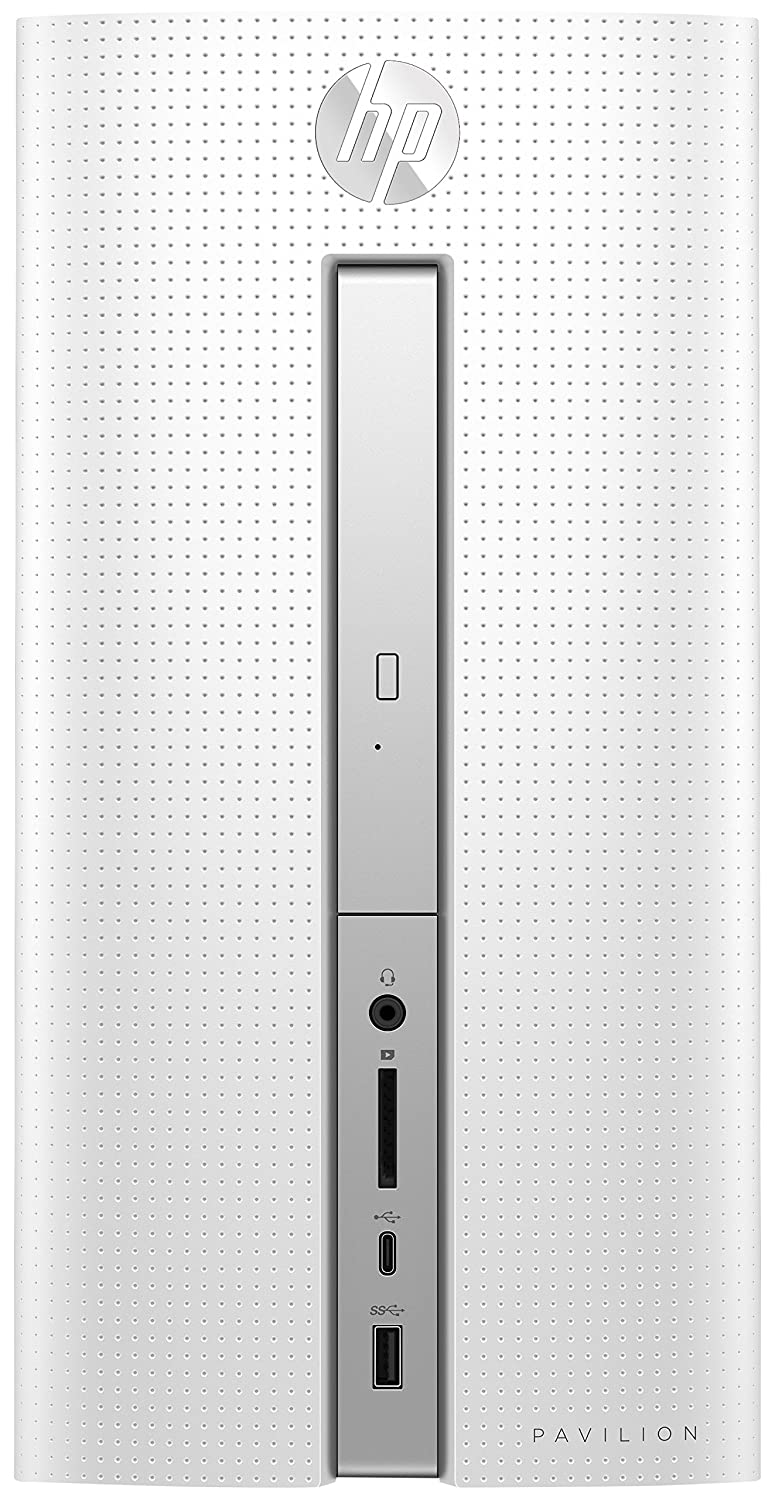HP Pavilion 570-p572ng 3,5 GHz AMD A A10-9700 Blanco, Negro Escritorio PC - Ordenador de sobremesa (3,5 GHz, AMD A, 8 GB, 1128 GB, DVD Super Multi, Windows 10 Home)