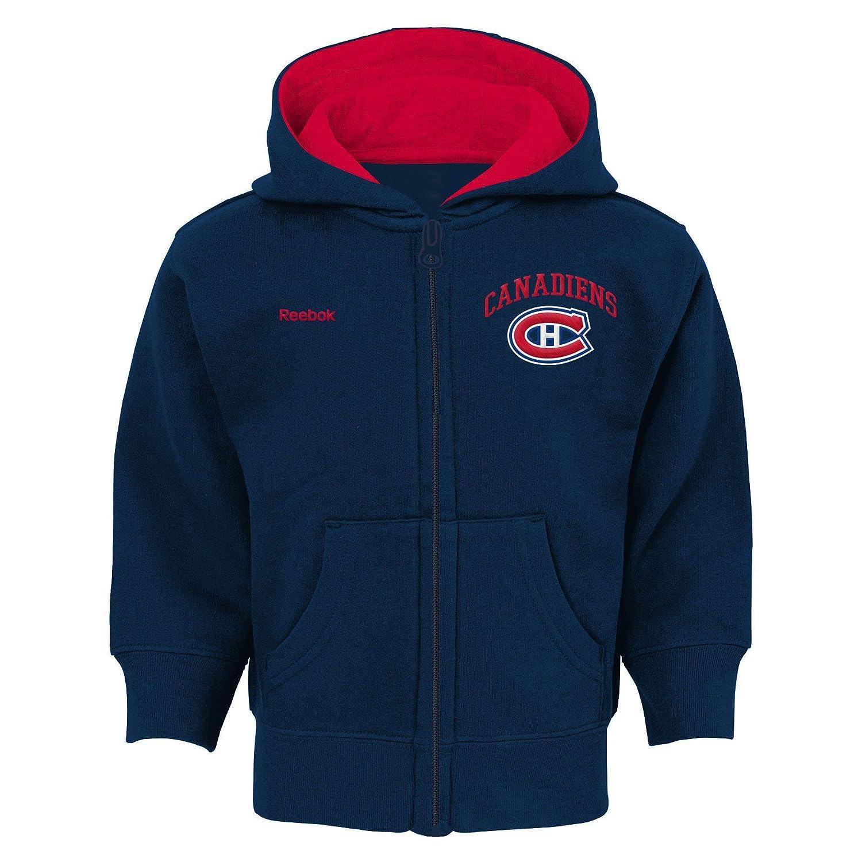 Montreal Canadiens Infant Pledge Full-Zip Fleece Hoodie Reebok