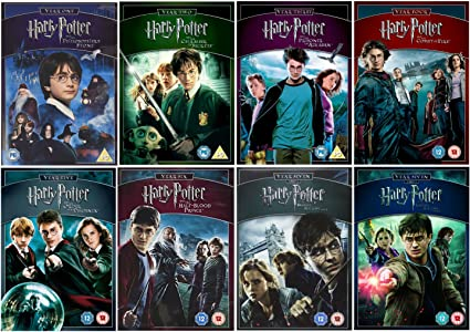 Harry Potter 1-8 Complete Collection: Amazon.co.uk: Daniel ...