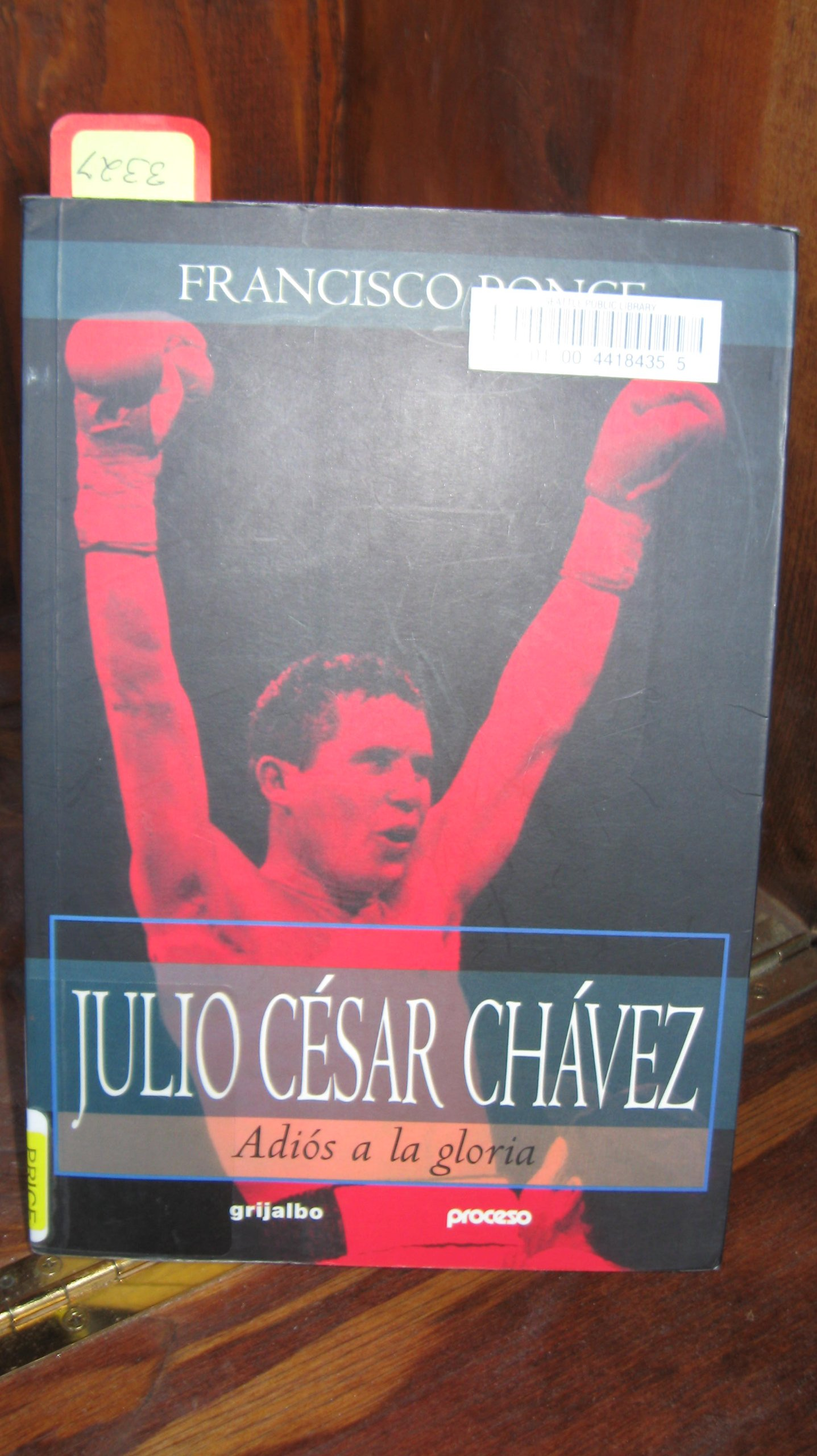 Julio Cesar Chavez: Adios a la Gloria (Spanish) Paperback – April 1, 2001