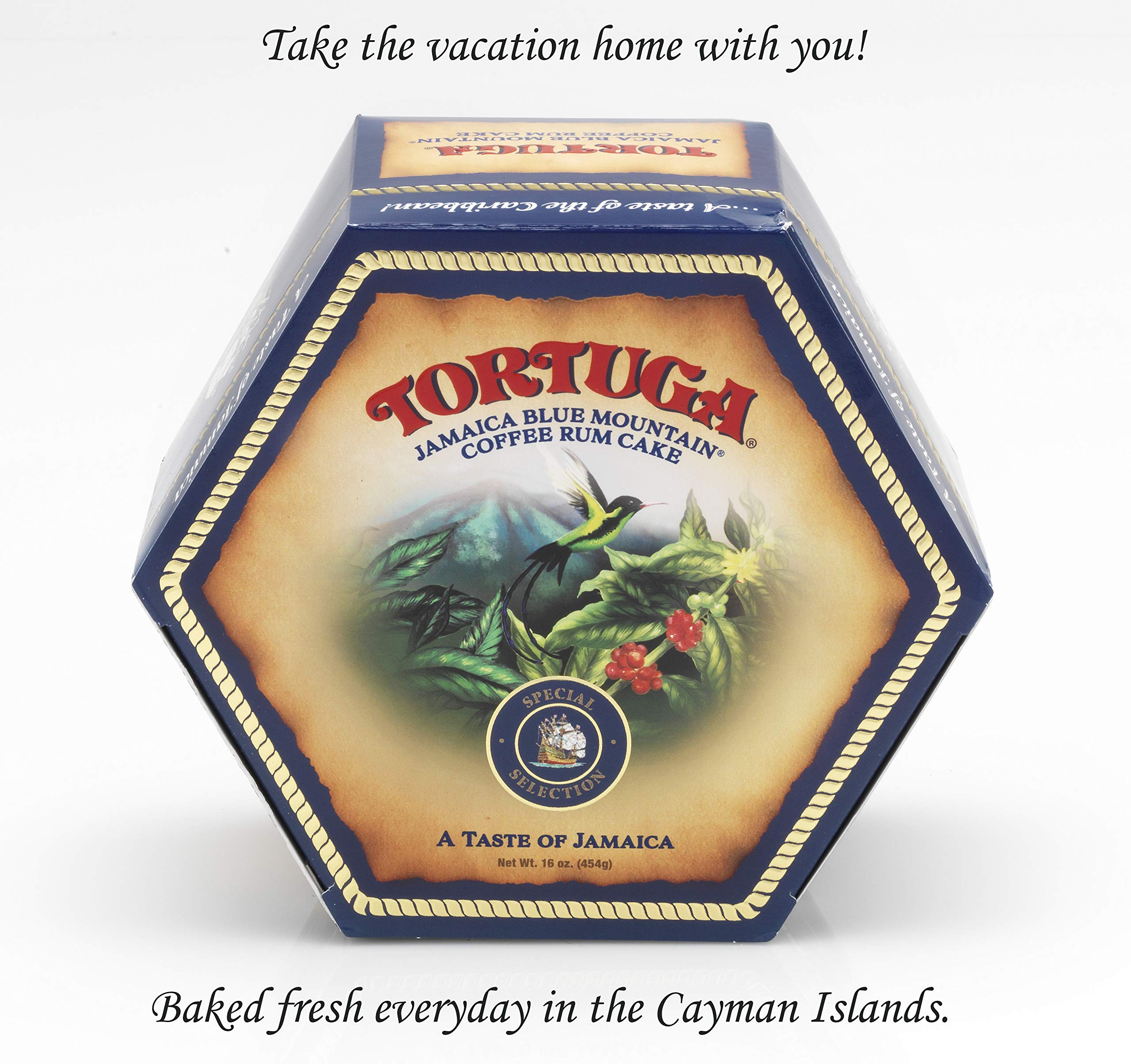 TORTUGA Caribbean Blue Mountain Coffee Rum Cake - 4 oz. - The Perfect Premium Gourmet Gift by TORTUGA (Image #2)