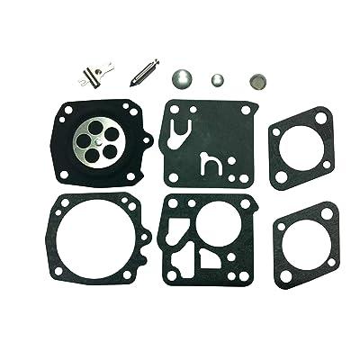 C·T·S Carburetor Repair/Rebuild Kit Replaces Tillotson RK-21HS for Stihl 041 045 051 056 076 TS50 TS510 TS760: Garden & Outdoor