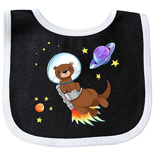 f9e703446b18 Amazon.com  Inktastic - Otter Space cute otter with rocket pack Baby ...