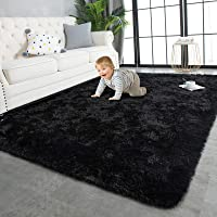TWINNIS Super Soft Shaggy Rugs Fluffy Carpets, 3x5 Feet, Indoor Modern Plush Area Rugs for Living Room Bedroom Kids Room…