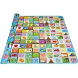 Arshiner Baby Kid Toddler Play Crawl Mat Carpet Playmat Foam Blanket Rug for In/Out Doors